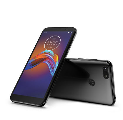 Moto E6 Play Steel Black LAYDOWN COMBO