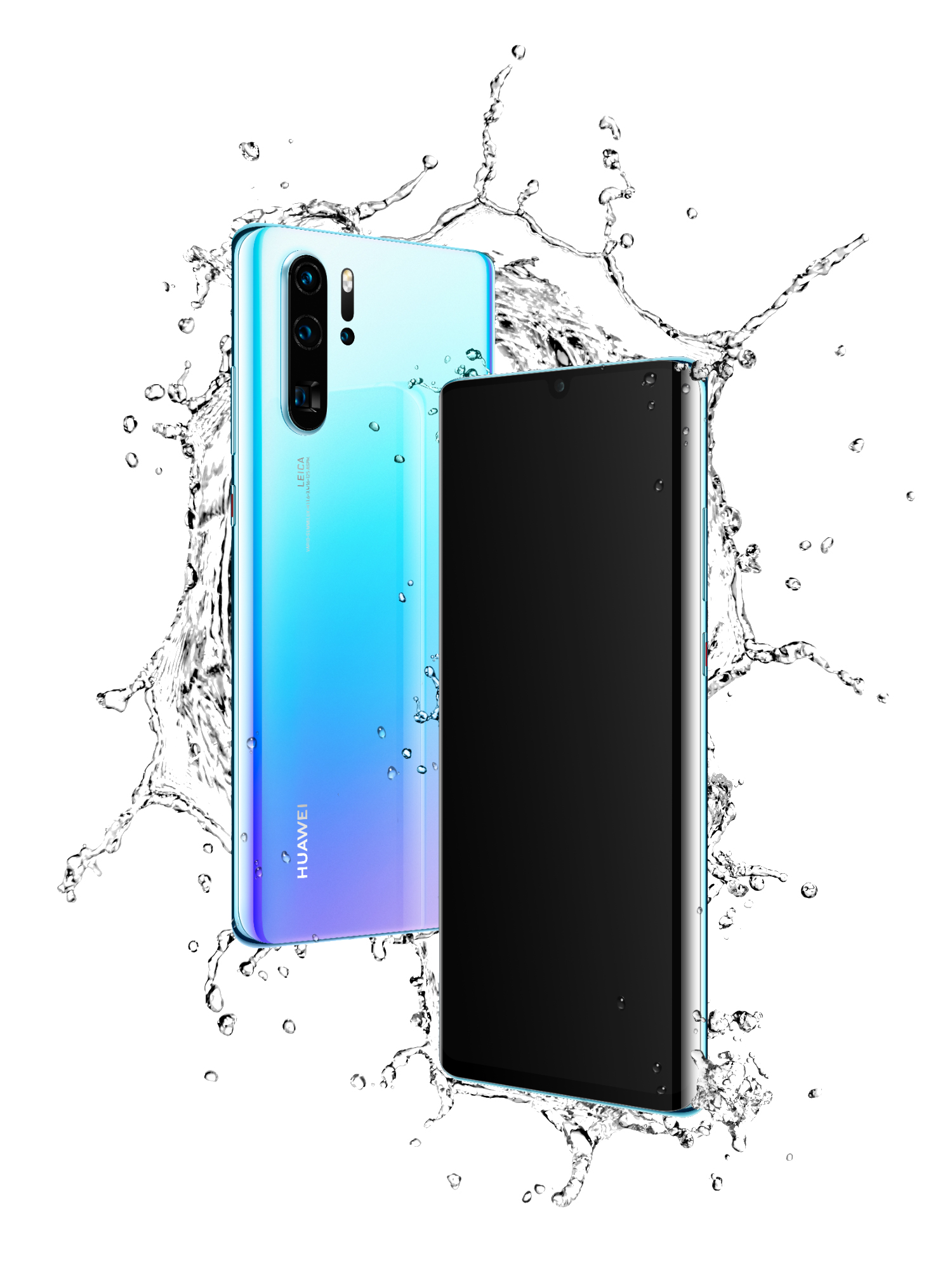 P30 Pro The IP68 rated water