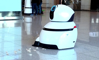 Airport Cleaning Robot 01