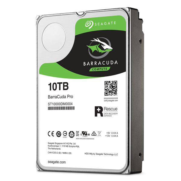 BARRACUDA PRO T 10TB Hero Left