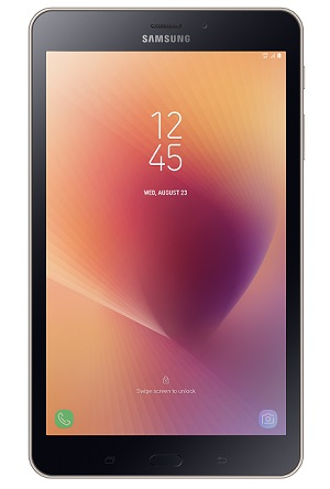 Galaxy Tab A 2017 001 Front Gold 1