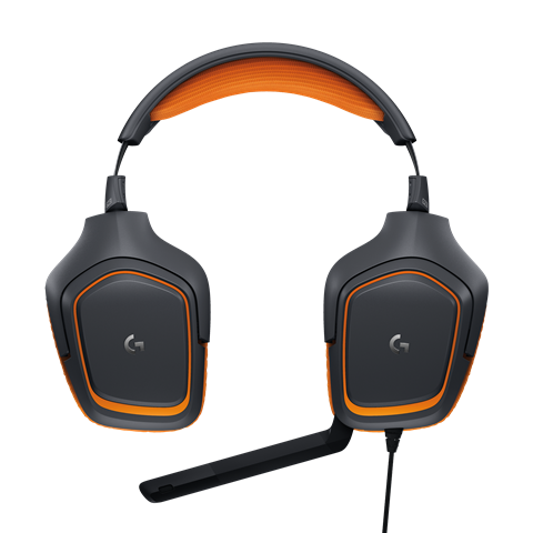 High Resolution G231 Prodigy Gaming Headset Flat