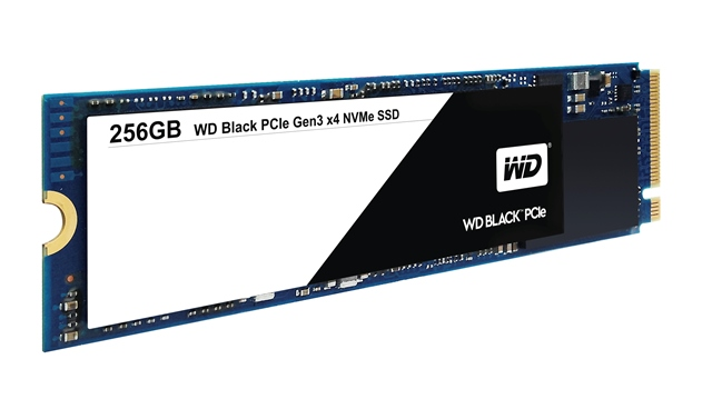 WD Black PCIe SSD 256 GB 2