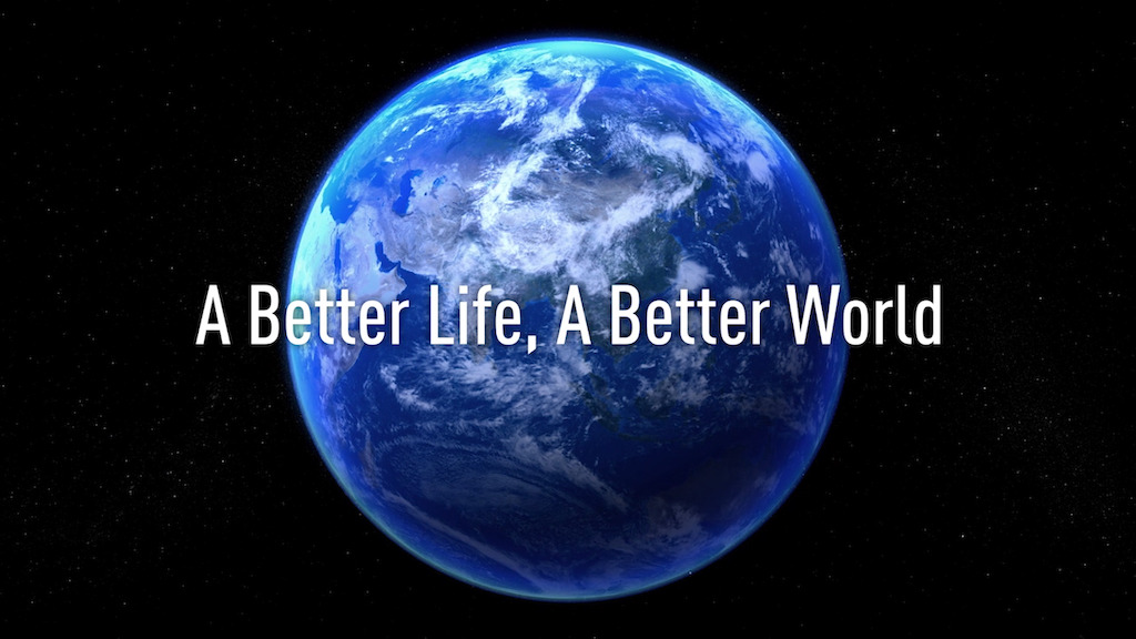 Panasonic A Better Life A Better World